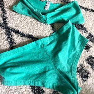 American Apparel Intimates & Sleepwear - American apparel set